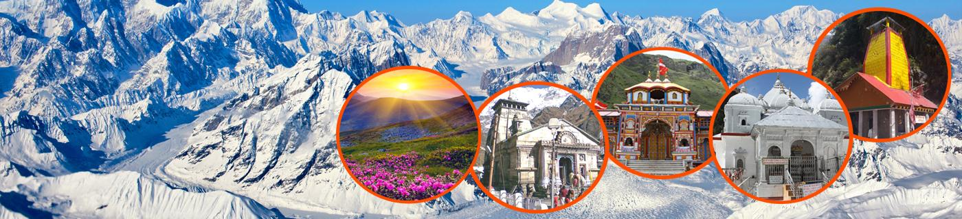 Char Dham with Valley of Flowers Yatra